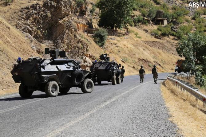"""Hakkari'de 31 bölge """"özel güvenlik bölgesi"""" ilan edildi"""