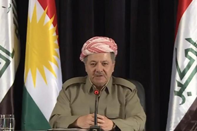 Barzani: Kürdistan halkı kendi kararını vermiştir