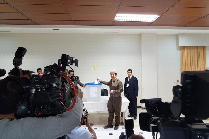 Irak Kürdistan Bölgesi'nde bağımsızlık referandumu başladı