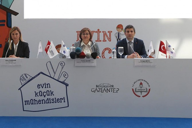 """Gaziantep'te """"Evin Küçük Mühendisleri"""