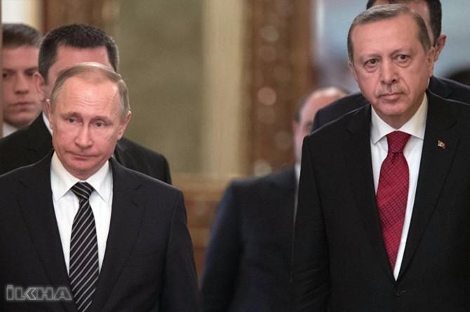 Serokkomar Erdogan û Pûtîn hevdîtin kirin