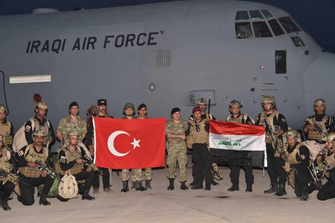 TSK ve Irak'tan ortak tatbikat