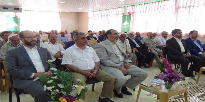HÜDA PAR Çınar ilçe teşkilatının 2'nci olağan kongresi yapıldı