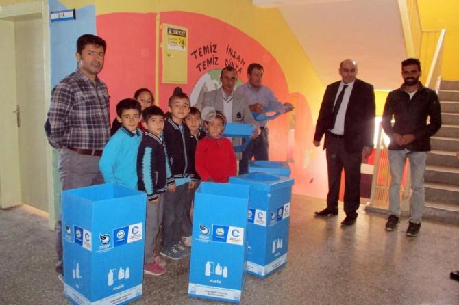 Edremit'te atık pil toplama kampanyası başlatıldı