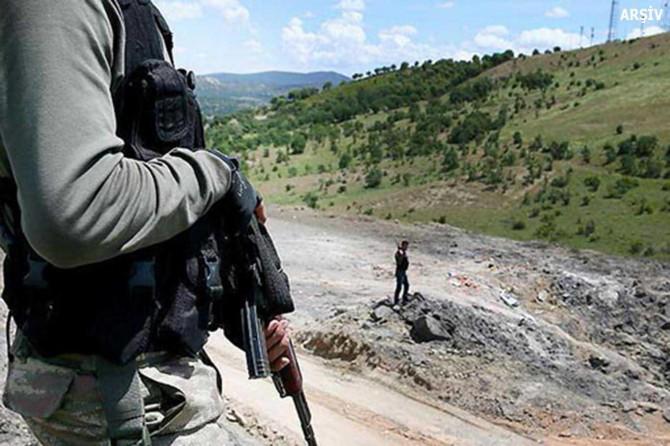 Gri listede aranan Sariye Amed adlı PKK'li öldürüldü