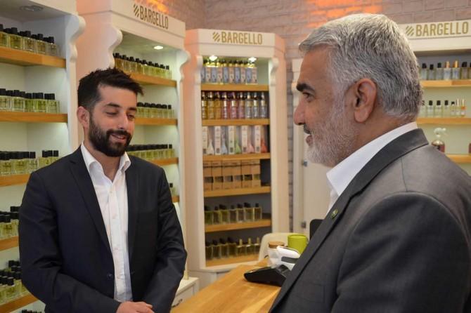 HÜDA PAR Genel Başkanı Yapıcıoğlu Ağrı'da esnafı ziyaret etti
