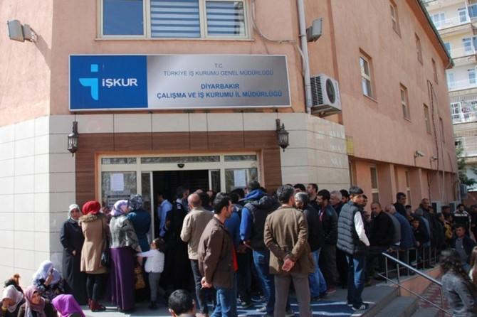 Diyarbakır'daki iş yerlerinin bin 182 elemana ihtiyacı var
