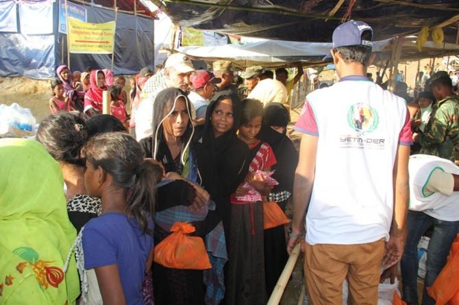 Avrupa Yetim-Der ve IHO-Ebrar Arakanlı mazlumlara ulaştı