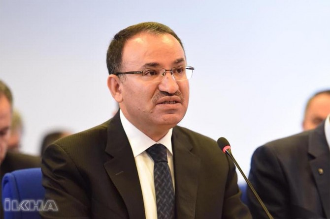 Statements from Bozdağ on the visa crisis with the United States