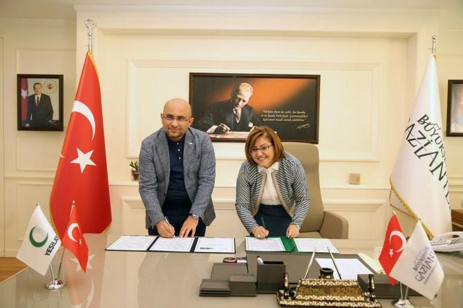 Yeşilay ile Gaziantep Belediyesi işbirliği protokolü imzaladı