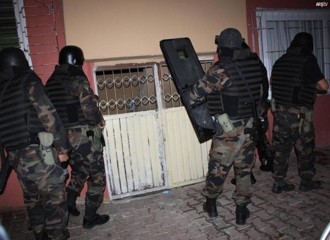 Adana merkezli 6 ilde PKK operasyonu: 34 gözaltı