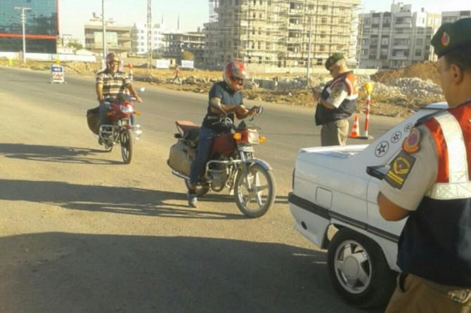 Şanlıurfa'da motosikletlere yönelik güven ve huzur uygulaması