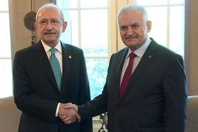 Başbakan yarın CHP lideri ile görüşecek