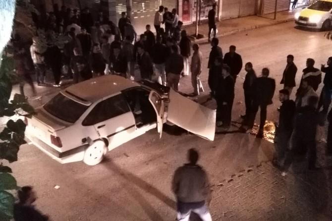 Adıyaman'da maddi hasarlı kaza