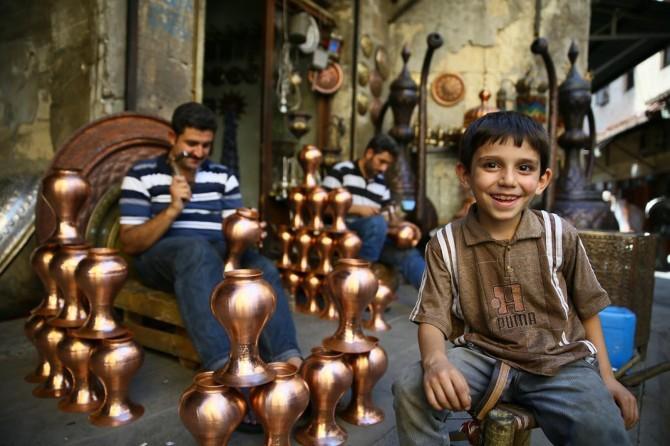 Turistler Gaziantep'in yüzünü güldürmeye başladı