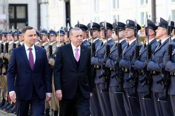 Erdoğan Polonya'da