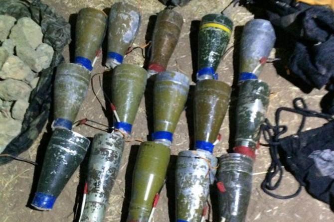 Cizre'de antitank roket başlığı ve TNT patlayıcı ele geçirildi