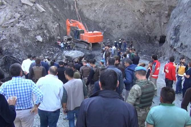 Şırnak'taki göçükte 6 işçi hayatını kaybetti
