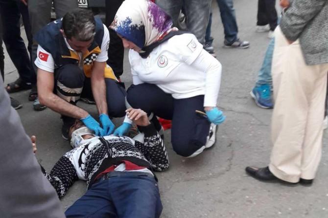Batman'da trafik kazası: Bir yaralı