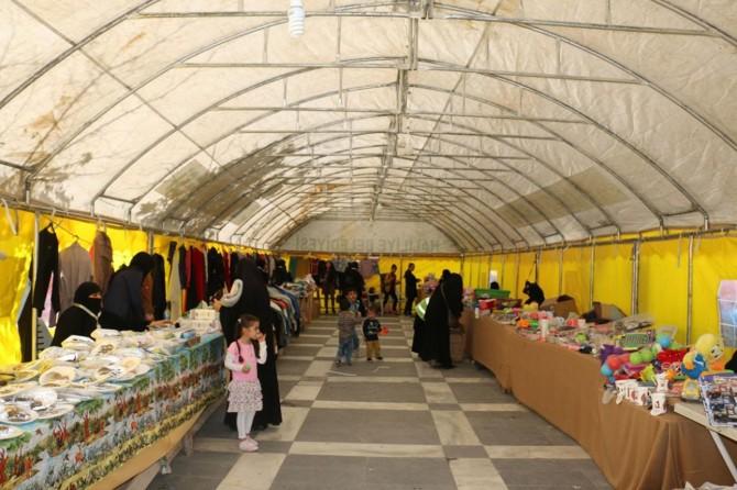 Şanlıurfa'da fakir ve muhtaç aileler yararına kermes