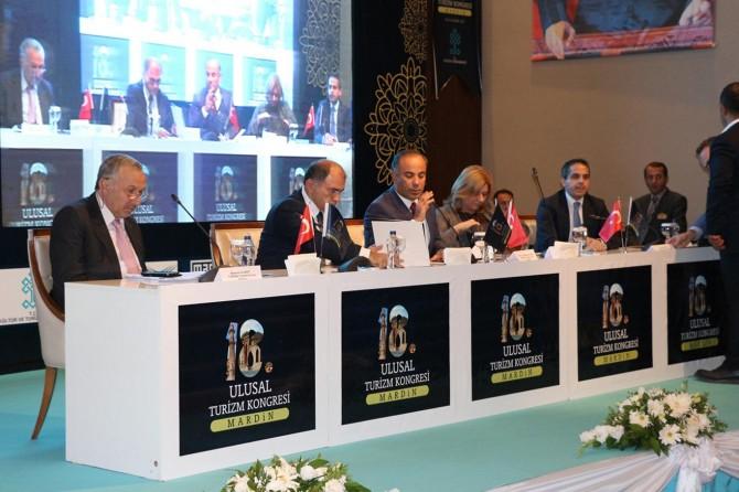 18'inci Ulusal Turizm Kongresi Mardin'de başladı