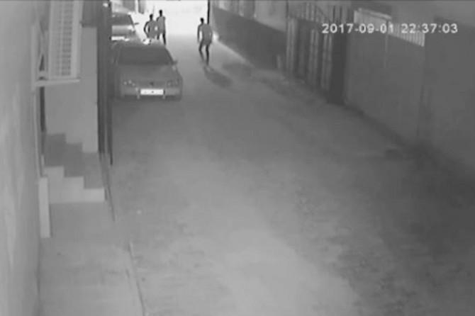 Güvenlik kameralarına takılan hırsızlar tutuklandı