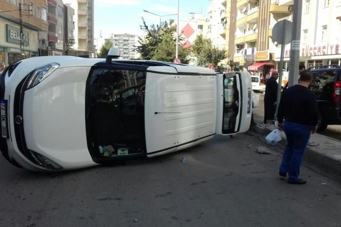 Batman Pınarbaşı Mahallesinde trafik kazası: 3 yaralı