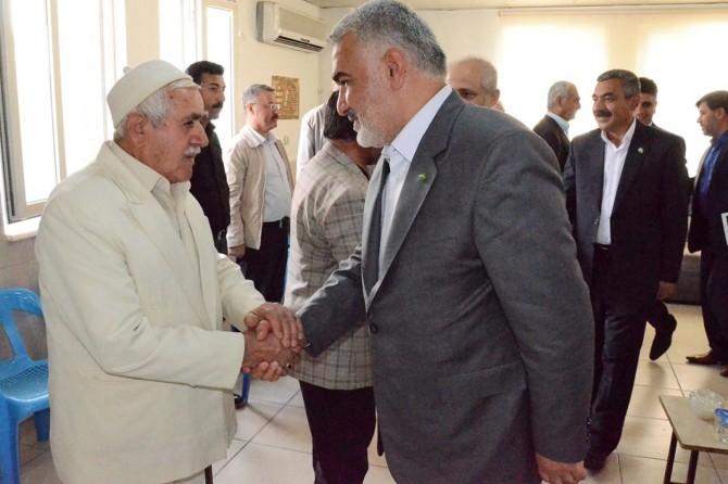 Yapıcıoğlu Şeyh Maruf'un taziyesine katıldı