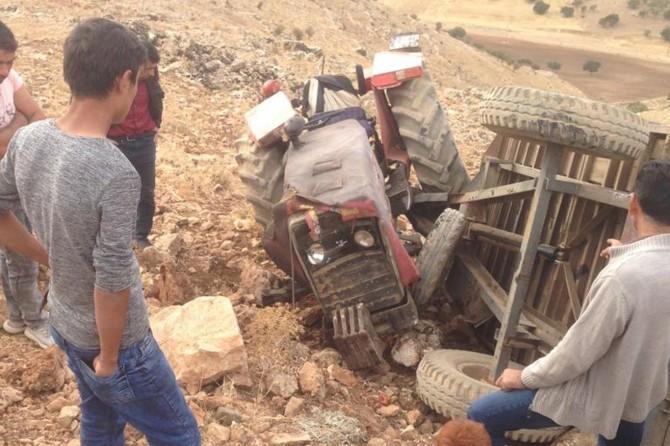 Mardin'de traktör kazası: Bir ölü 4'ü çocuk 6 yaralı
