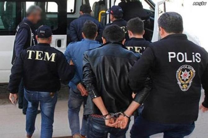 Diyarbakır Silvan'da PKK operasyonu: 9 gözaltı