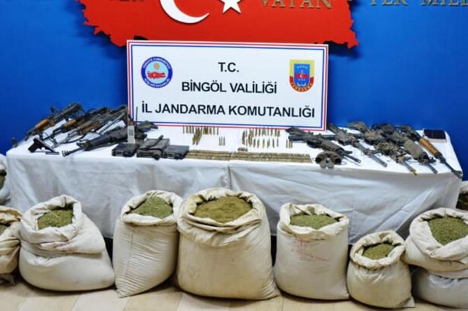 Bingöl'de 5 PKK'li öldürüldü