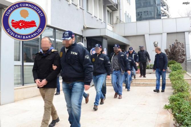 Son bir haftada 5 bin 649 kişi gözaltına alındı