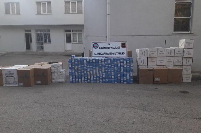 Gaziantep'te kaçak sigara ve ilaç ele geçirildi