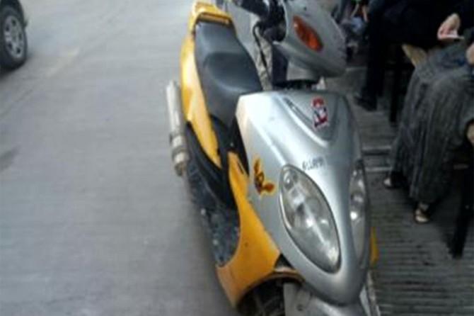 Plakasız motosikletiyle kaçan şüpheli tutuklandı
