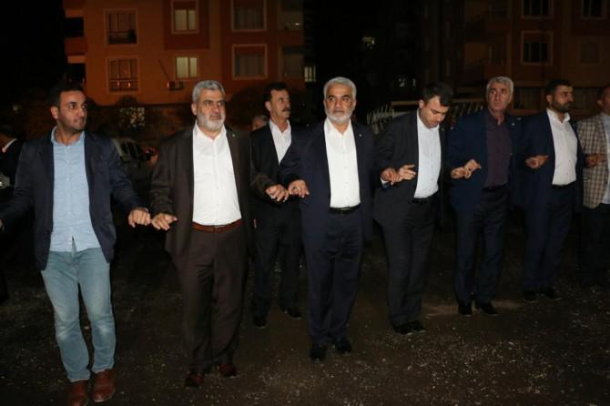 Yapıcıoğlu Yusufi mahkûm Abdullah Zengin'in düğün törenine katıldı