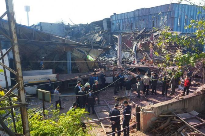 Bursa Valisi Küçük'ten patlamaya ilişkin açıklama