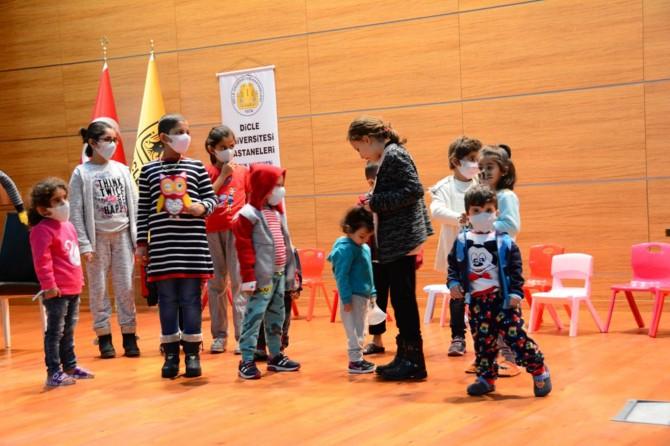 Diyarbakır'da lösemili çocuklar için moral etkinliği