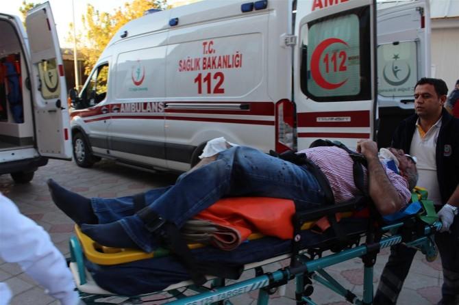 Adıyaman Kahta'da trafik kazası: 5 yaralı
