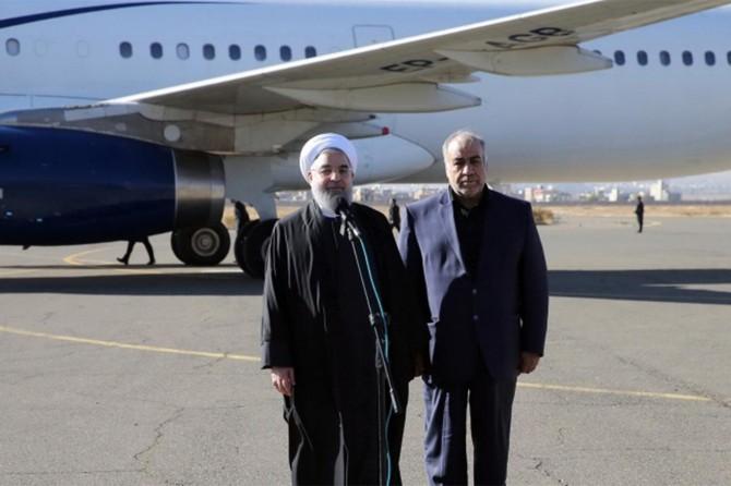 Ruhani deprem bölgesinde incelemelerde bulundu