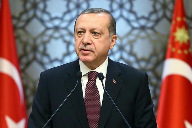 Serokomar Erdogan: Konvoya me ya alîkariyê ya ku ji 50 TIRan pêk tê sînor derbas kir