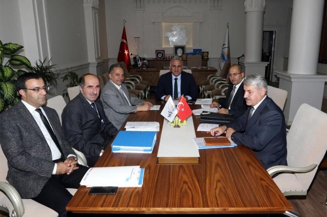 Van Büyükşehir Belediyesinin meclis toplantısı yapıldı
