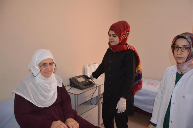 Kozluk'ta fizik tedavi ünitesi açıldı