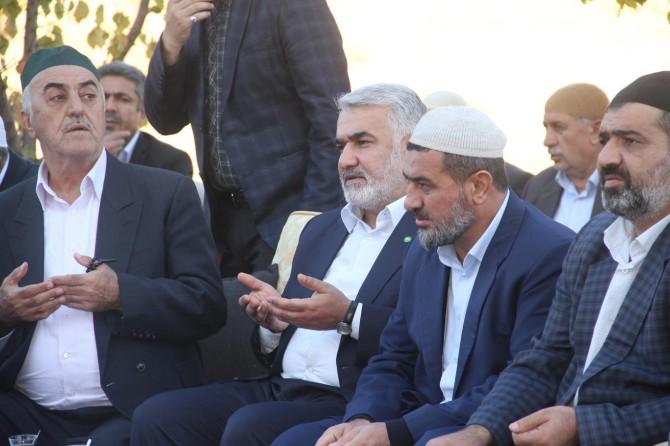 Yapıcıoğlu'ndan Hamidi ailesine taziye ziyareti