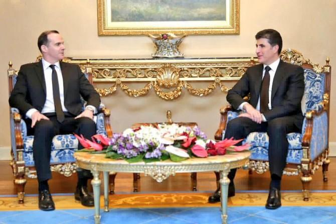 ABD'nin özel temsilcisi Kürdistan'da temaslarda bulunuyor