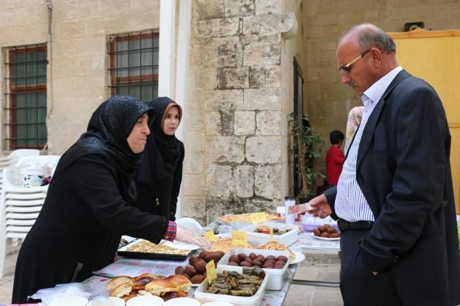 Eyyübiye İlçe Müftüğünden Kur'an kursları için kermes