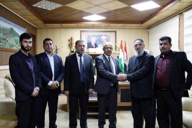 Hope Caravan delegation meets Darbandikhan District Governor