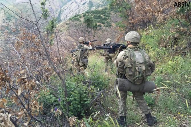 'Turuncu' ve 'gri' listede aranan 2 PKK'li öldürüldü