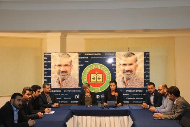 """Diyarbakır Barosundan """"hak ihlalleri"""" raporu"""