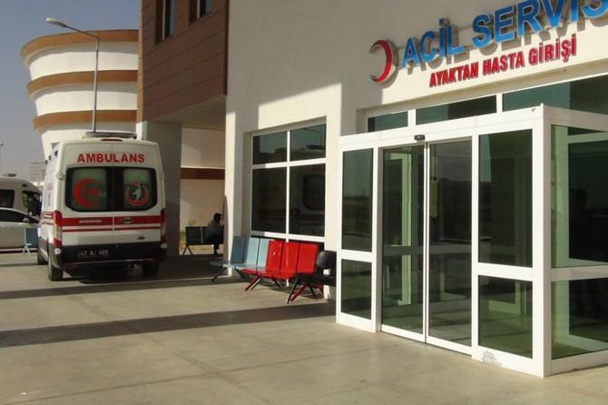 Mardin Nusaybin'de inşaattan düşen işçi ağır yaralandı