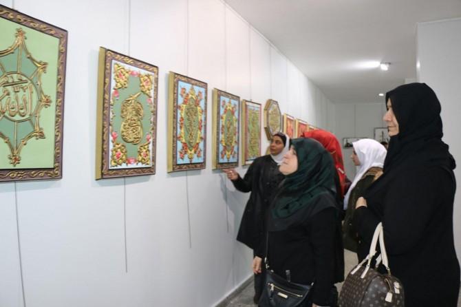 Suriyeli ressamlardan sergi